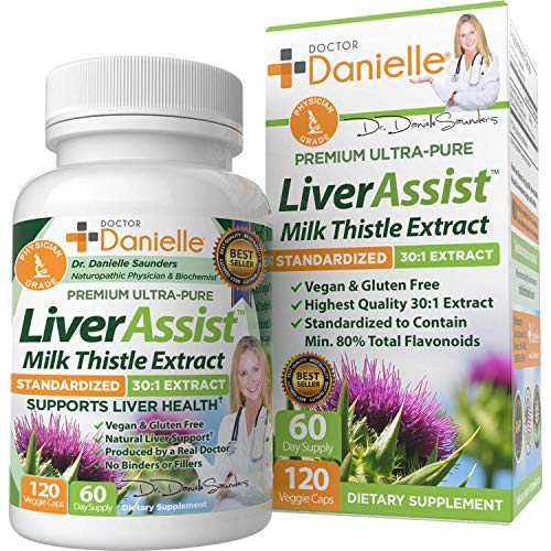 Best Liver Supplements With Milk Thistle Organic Liver Cleanse Detox & Cleanse Hangover Prevention And Support For Men And Women Liver Detox Cleanse Repair 120 Capsules By Dr. Danielle …