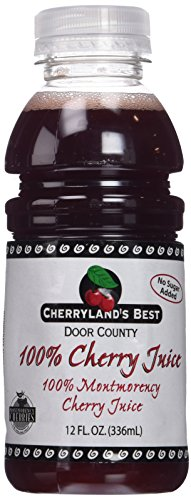 Cherryland's Best Tart Cherry Juice, 12 Ounce (pack Of 12)