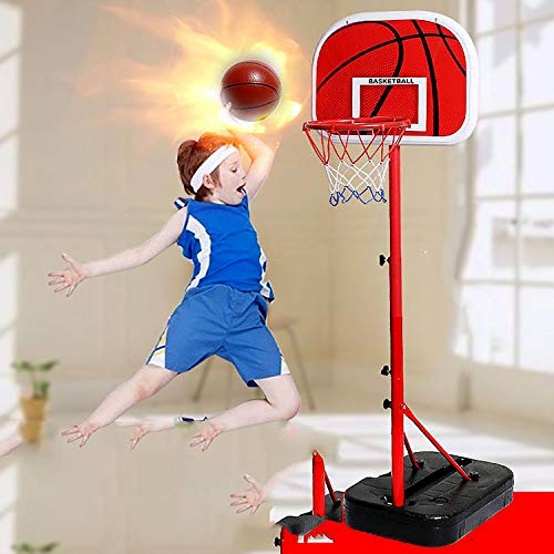 Eodpot Adjustable Portable Basketball Hoop And Stand,basketball Net,rebounder Netting,the Best Gift For Boys, Men, Basketball Enthusiasts 200cm