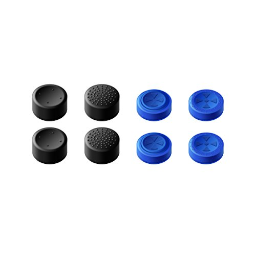 Gamesir Ps4 Controller Thumb Grips, Analog Stick Covers Skins For Ps4/slim/pro Controller, Best Caps For Ps4 Gaming Gamepad Blue