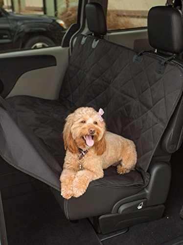 Internet's Best Car Bench Seat Cover Seat Cover For Pets Seat Protector Cover Back Seat Dog Cover Hammock Convertible Water Resistant