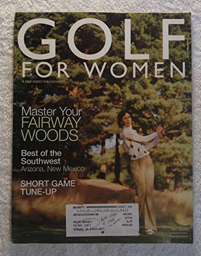 Kay Cockerill (nbc Sports Commentator) Master Your Fairway Woods Golf For Women Magazine December 2001 Best Of The Southwest: Arizona, New Mexico