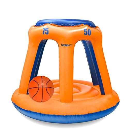 Kyerivs Pool Basketball Hoop Perfect Indoor Outdoor Swimming Basketball Hoop Set Best Water Sports Competitive Water Play With Two Ball Included For Kids And Adults