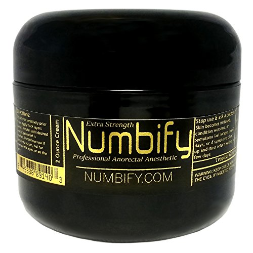 Numb Ify Numbing Cream 5% Lidocaine Extra Strength Anesthetic Numb Ify's Strongest/best Pain Relief & Numbing Cream (2 Oz)