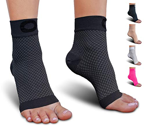 Plantar Fasciitis Sock With Arch Support For Men & Women Best Ankle Compression Socks For Foot And Heel Pain Relief Better Than Night Splint Brace, Orthotics, Inserts, Insoles (xxl, Gray)