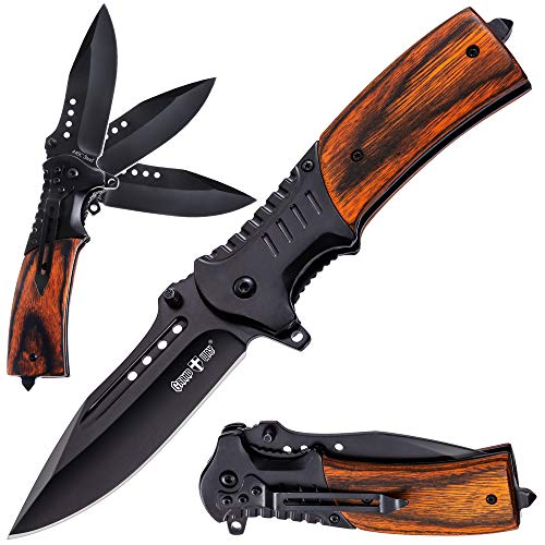 Pocket Knife Spring Assisted Folding Knives Military Edc Usmc Tactical Jack Knifes Best Camping Hunting Fishing Hiking Survival Knofe Travel Accessories Gear Boy Scout Knife Gifts For Men 0207