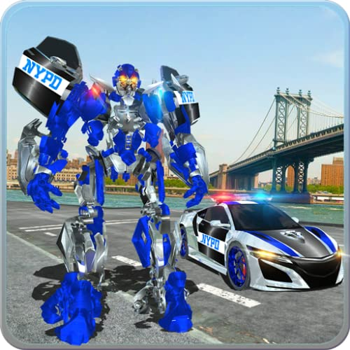 Police Car Robot War: Police Games Do Police Chase In Cop Car As Ny City Police Officer Of Real Robot Games. Best Muscle Car Robot Transformation In Robot Fighting Games & Nypd Police Car Games. Free Robot Battle Action Games For Kids