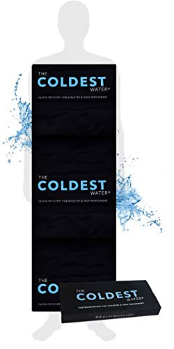 "The Coldest Ice Pack Gel Ice Packs Reusable Cold Therapy Pack (best For Pain And Injuries Of Knee, Shoulder, Foot, Back, Ankle, Neck, Hip, Wrist) Multiple Sizes (53"" X 13"" Full Body)"
