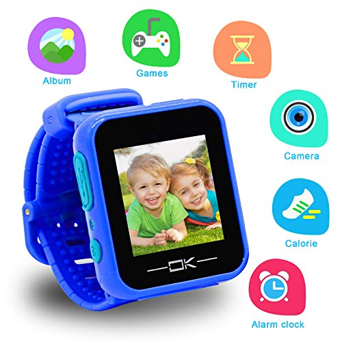 Toys For 3 6 Year Old Girls Pussan Smart Watches For Kids Button Toddler Watch With Camera Usb Charging Best Christmas Birthday Gifts For Kids Smartwatch Kids Watches For Boys Girls Vtech Kidizoom