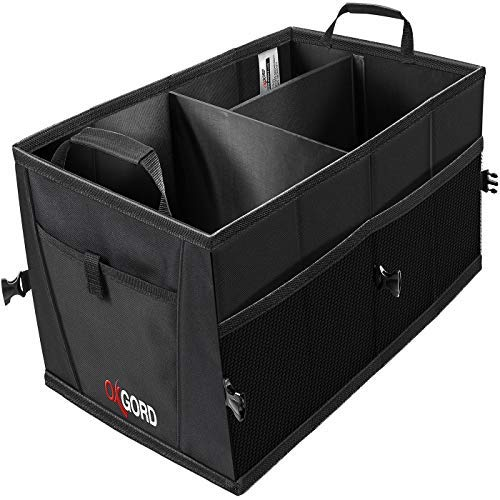 Trunk Organizer For Car Storage Organizers Best For Suv Truck Van Auto Accessories Organization Caddy Bag Front Or Back Seat Vehicle Sedan Interior Collapsible Bin Automotive Grocery Organize Box