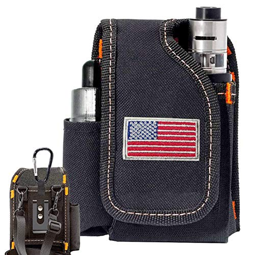 Vape Mod Carrying Bag, Vapor Case For Box Mod, Tank, E Juice, Battery Best Vape Portable Travel To Keep Your Vape Accessories Organized [case Only] (national Flag)