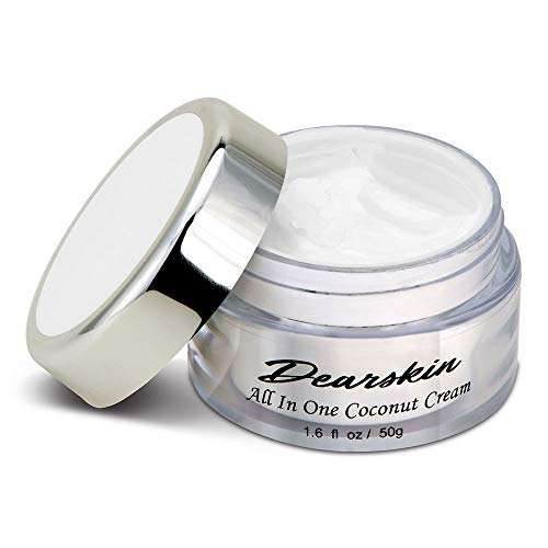 Whitening Face Moisturizer Anti Wrinkle Coconut Cream Vegan Organic Cruelty Free Day And Night Moisturizing Skin Care Best Natural Formula With Hyaluronic Acid, Vitamin C, Kojic Acid, B Complex