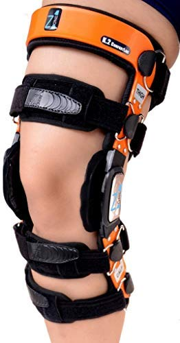 """Z1 K2 Knee Brace – Best Knee Brace For Acl/ligament Injuries/sports Injuries, Arthritis (oa) & Preventive Protection & Relief From Knee Joint Pain/degeneration Men & Women S1(t=14 15.5""""/c=9 10"""")"""