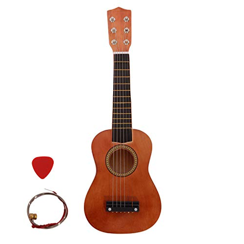 "21"" Beginner Classical Acoustic Guitar Introductory Guitar With Picks, Extra String,best Gift For Children,beginner (coffee)"