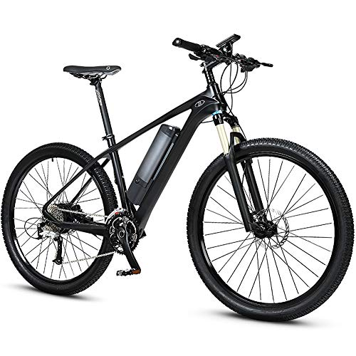 27.5 Inch Carbon Fiber Bicycle, Electric Mountain Bike, 3.5 Inch Lcd Screen And 200km Super Long Battery Life, The Best Choice For Adult Men