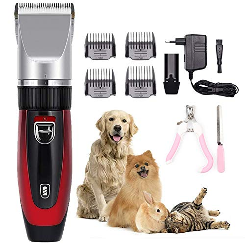 Akl Dog Shaver Clippers Pet Grooming Clippers Cordless Dog Grooming Clippers Low Noise Quiet Rechargeable Pet Hair Trimme Best Shaver For Dogs Cats Pets