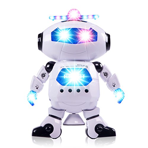 Ciftoys Boys Toys Electronic Walking Dancing Robot Toy Toddler Toys Best Gift For Boys And Girls 3 Years Old