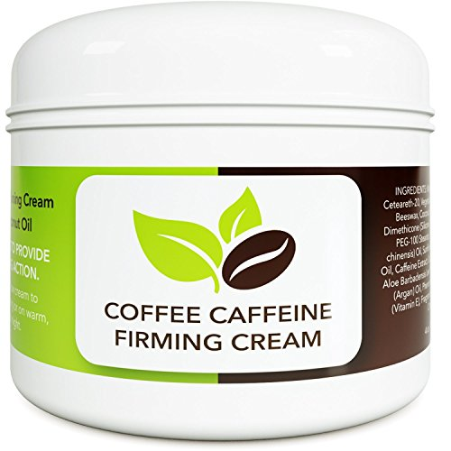 Coconut Cellulite Cream With Caffeine Natural Stretch Mark Treatment Best Body Firming And Tightening Cream Anti Aging Moisturizer For Men And Women Uv Damage Wrinkle Repair