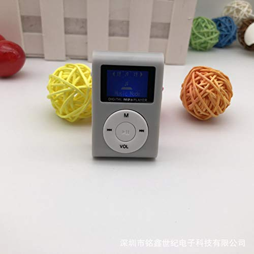 Detectorcatty Small Size Portable Mp3 Player Mini Lcd Screen Mp3 Player Music Player Support 32gb Tf Card Best Gift
