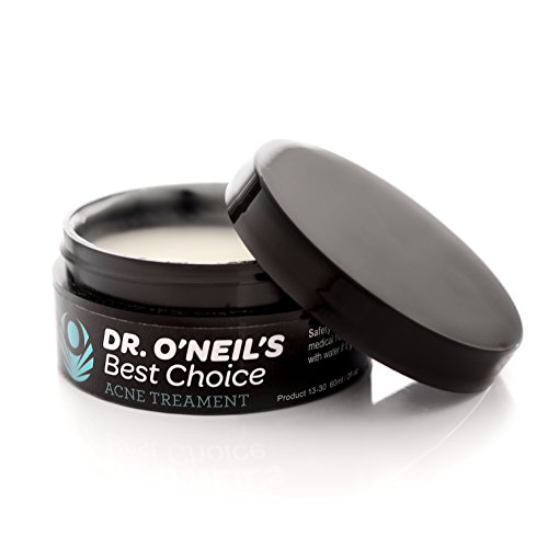 Dr. O'neil's Best Choice Acne Treatment Cream With 2.5% Benzoyl Peroxide, Retinol And Tea Tree Oil. Specially Formulated For Minimal Skin Irritation And Fast Results To Get Rid Of Pimples