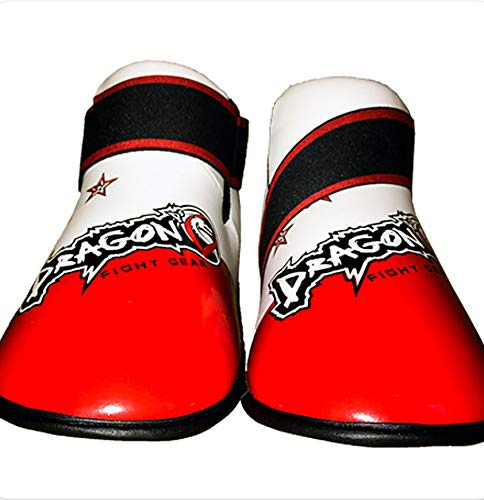 Dragon Do Sparring Shoes Best For Martial Arts, Taekwondo, Karate Foot Gear Smart Design Red