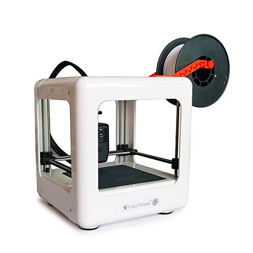 Easythreed Nano Mini 3d Printer With Removable Building Platform,full Assembly,suitable For Kids And Beginners,family 3d Printing Set,best Desktop Toybox 3d Printers For Students Education(white)