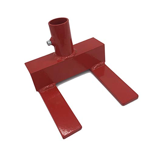 Ewandor Pallet Buster | Deck Wrecker, Pallet Disassembly Tool | Deck Board Tool, Best Wrecking Bar For Breaking Pallets Industrial Breaker For Removing Or Tearing Down Woods, Red