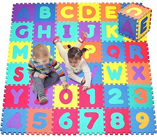 Foam Puzzle Floor Mat,baby Safety Crawling Mat Children's Educational Toys Baby Gyms Playmats For Best Gift (multicolor)