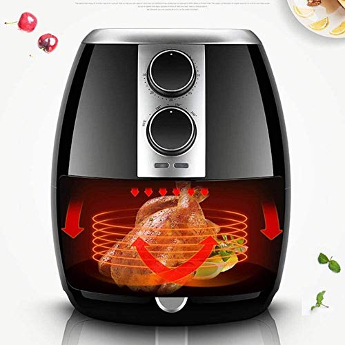 Fryer Air Fryer 3.5l Large Capacity Electric Frye Adjustable Temperature And Timer Function French Fries Machine No Fume Fryer Can Reduce Grease By 80% Fast And Healthy Best Gift