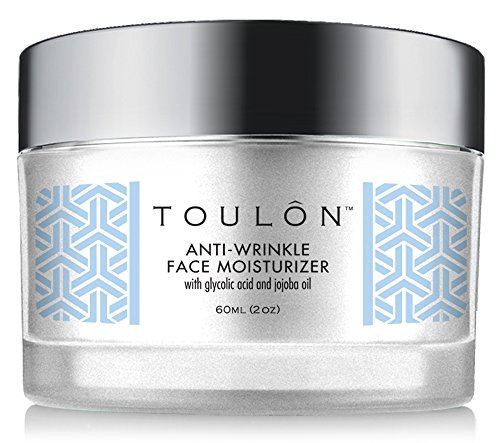 Glycolic Acid Cream 10% Face Moisturizer. Best Alpha Hydroxy Acid Products; Exfoliating, Anti Aging Wrinkle Cream With Aha For Acne Prone Skin; Natural Exfoliator For Day And Night
