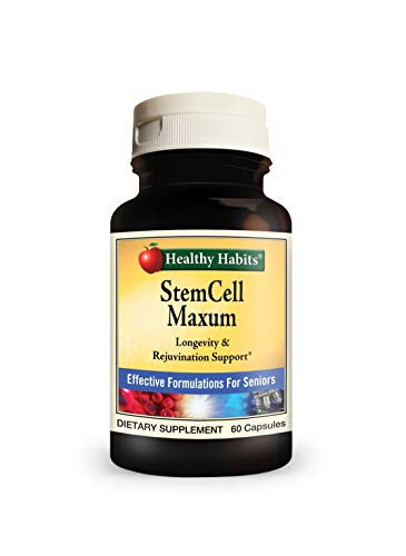 Healthy Habits Stemcell Maxum Best Plant Based Age Defying Support Supplement For Healthy Stem Cell Regeneration And Replenishment