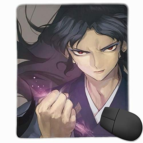 Japanese Manga Anime Inuyasha Naraku Mouse Pad For Laptop Pc, Portable High Performance Mouse Mat With Rubber Base, Best Mousepad For Desktop 9.8x11.8 In