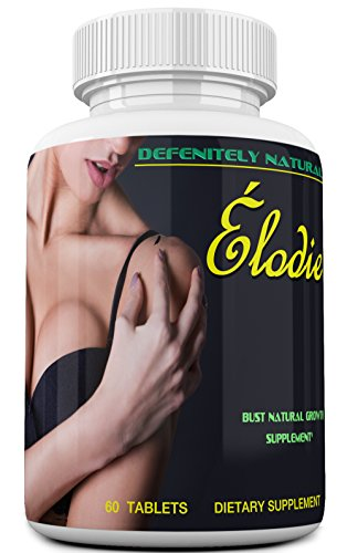 Élodie – America's Best Rated Breast Enlargement, Bust Enhancement Pills. Natural Female Enhancement That Works Formulated For Those Over 50 60 Capsules