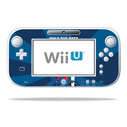 Mightyskins Skin Compatible With Nintendo Wii U Gamepad Controller – Best Wrestle | Protective, Durable, And Unique Vinyl Decal Wrap Cover | Easy To Apply, Remove, And Change Styles | Made In The Usa