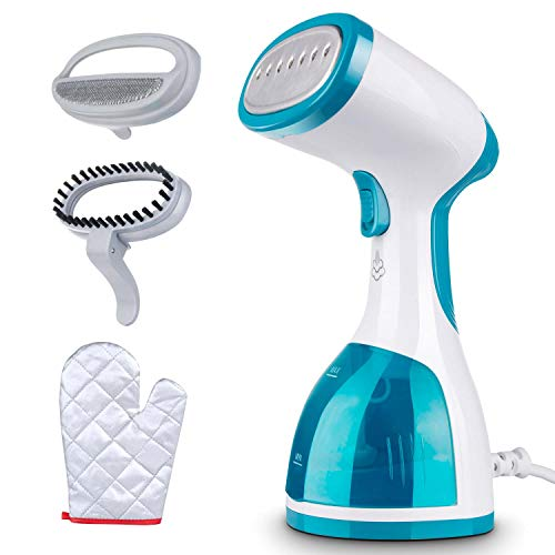 Minetom Garment Steamer For Clothes 1000w Portable Powerful Handheld Clothes Steamer With 260ml High Capacity, 40s Fast Heat Up, Wrinkle Remover, Clean And Sterilize, Best For Home And Travel