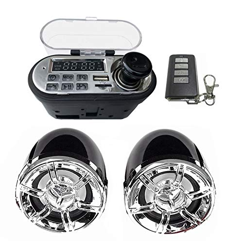 Motorcycle Speakers Motorcycle O Sound System Stereo Speaker Waterproof Motorbike Scooter Fm Radio Bluetooth Usb Tf Mp3 Music Player Kit Best Motorcycle Speakers By Numipu