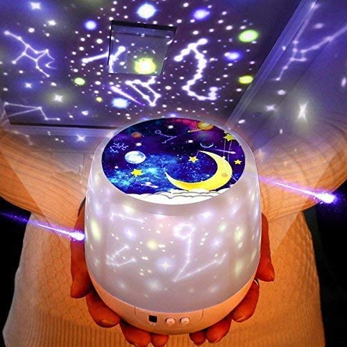 Night Lights For Kids Yoyobear Multifunctional Night Light Star Projector Lamp For Decorating Birthdays, Christmas, And Other Parties, Best Gift For A Baby's Bedroom, 6 Sets Of Film