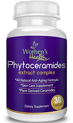 Phytoceramides Capsules With Our Anti Aging Program For Free Best Anti Aging Supplement From Rice With Vitamin A,c,d And E For Hair, Skin, Nails