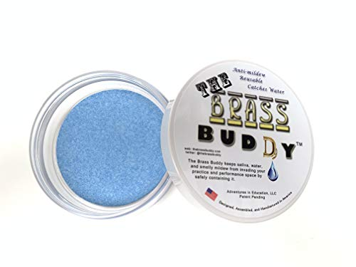 The Brass Buddy The Best Buddy For Emptying Your Brass Instrument Accessory (blue) For Trumpet, Horn, Trombone, Euphonium, Baritone, Tuba