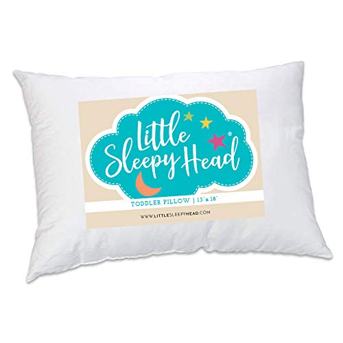 Toddler Pillow Soft Hypoallergenic Best Pillows For Kids! Better Neck Support And Sleeping! They Will Take A Better Nap In Bed, A Crib, Or Even On The Floor At School! Makes Travel Comfier!