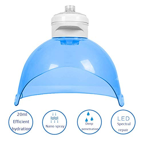 Xisure 4 In 1 Facial Steamer, Hydrogen Oxygen Mask,best Effect Anti Oxidation Beauty Atomizer, Led Face Skin Care Light Spectrum Instrument Skin Management Equipment,daily Skin Hydration