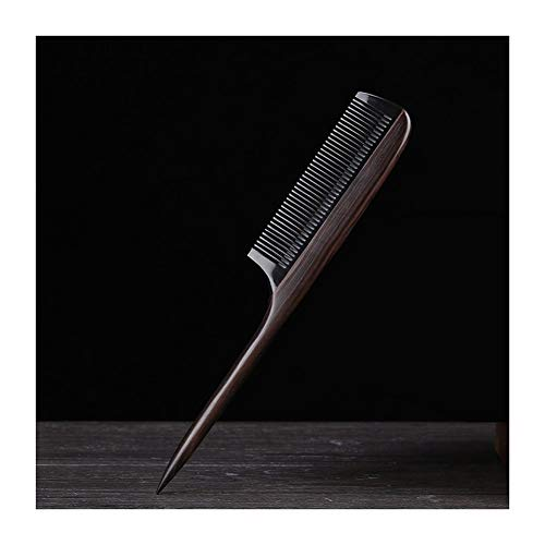Yaohai Best Styling Comb Household Anti Static Sandalwood Comb With Handle Hair Style Sharp Tail Comb For Men Women And Girls