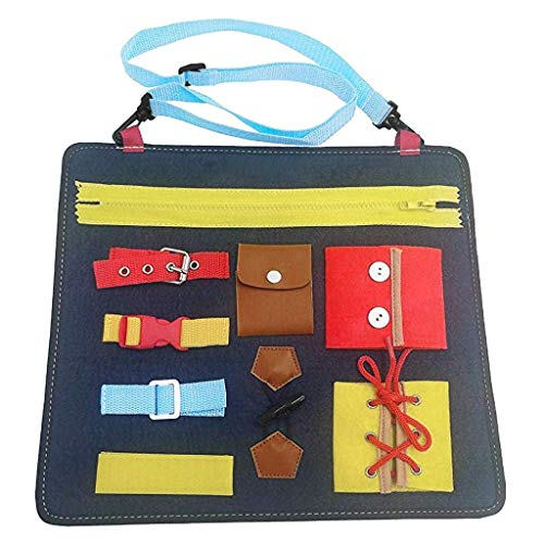 Yeefant Learning Board Wardrobe Teaching Bag Baby 1 5 Years Old Educational Toys Creative Learning Resources Educational Travel Toys Gift For Boys Girls Toddlers Best Toy Gift For Kids Funny Game Kit