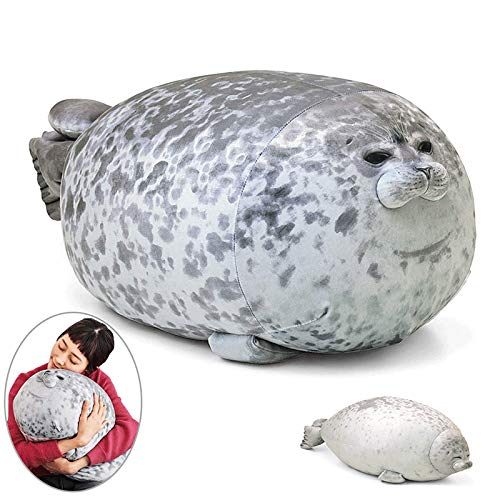 Awfand Chubby Blob Seal Pillow,cute Comfortable Ocean Animal Pillow Toy Back Cushion For Home Decoration And Best Gift For Child