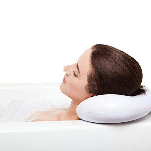 Best Bath Pillow Spa Pillows With Suction Cups Extra Firm And Best Quality Supports Your Neck & Head Perfectly Fits All Hot Tub, Whirlpool, Jacuzzi & Standard Tubs Great Gifts!