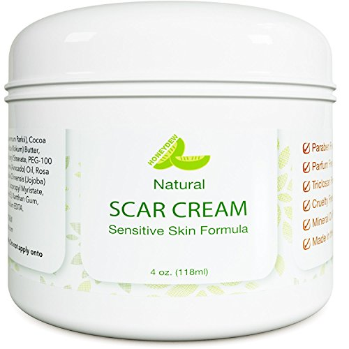 Best Scar Cream For Face Vitamin E Oil For Skin After Surgery Stretch Mark Remover For Men & Women Anti Aging Lotion Acne Scar Removal For Old Scars On Body Scar Treatment For Cuts