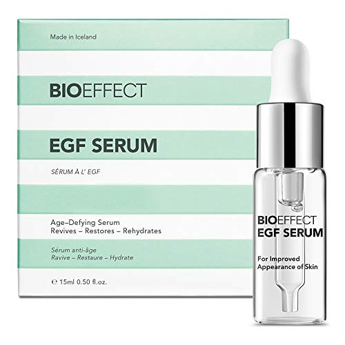 Bioeffect Egf Serum With Hyaluronic Acid, Renew Skin With Collagen Boosting, Moisturizing, Anti Aging Treatment For Face And Neck, Day And Night, Best Microneedling And Derma Roller Facial Serum