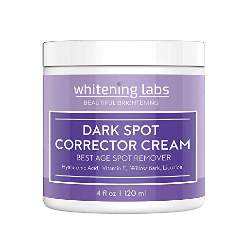 Dark Spot Corrector Best Dark Skin Age Spot Diminisher For Face, Hands, Body No Hydroquinone 4 Oz