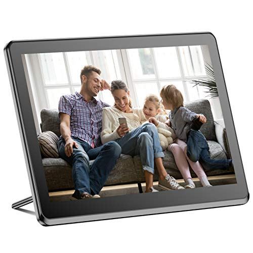 Digital Picture Frame Wifi 10 Inch Digital Photo Frame Full Hd 1920x1080 Ips Touch Screen Display, Auto Rotate, Share Photos And Videos Via App, Email, Cloud, Stereo Video Music Player, Best Gift