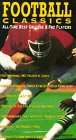 Football Classics All Time Best College & Pro Players [vhs]
